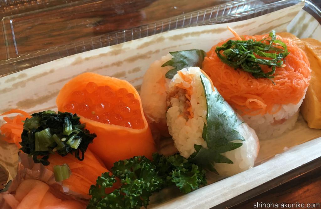 にんじん寿司